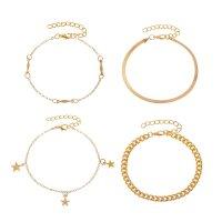 B768 - Multi-layer metal chain bracelet