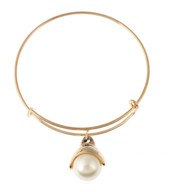 B772 - Simple Pearl Bracelet