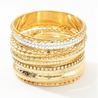 B779 - High-quality multi-layer diamond alloy bracelet