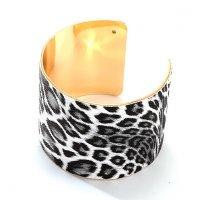 B780 - Fashion leather leopard bracelet