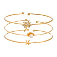 B785 - Simple diamond-studded Bracelet