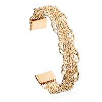 B800 - Gold cuff Bracelet