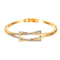 B804 - Geometric cross bracelet
