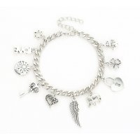 B810 - Retro Feather Chain Bracelet