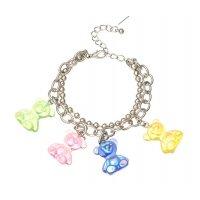 B812 - Resin bear pendant bracelet