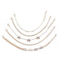 B815 - Simple temperament multi-layer 5 five-piece bracelet