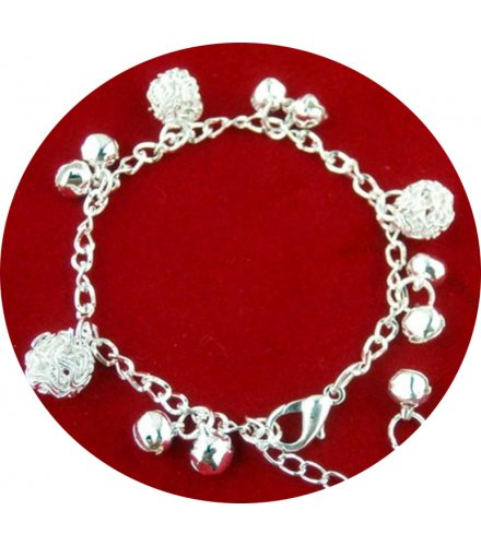 B818 - Hollow Ball Bracelet