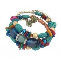 B825 - Boho Beads Bracelet