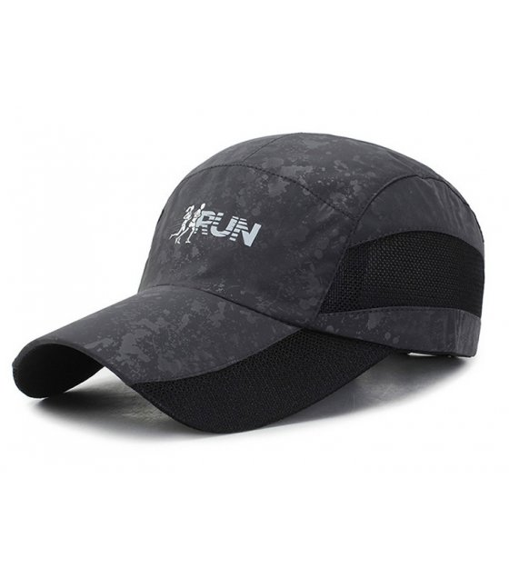 CA040 - Black Sports Cap