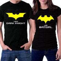 CT006 - BATMAN Couple Tshirt