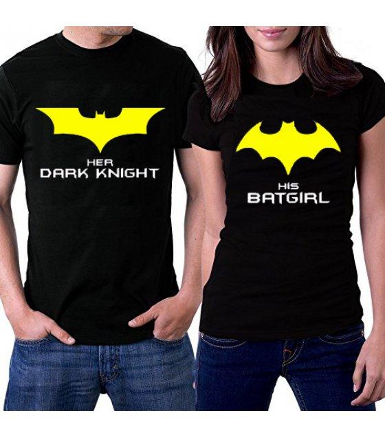 CT006 - BATGIRL couple Tshirt