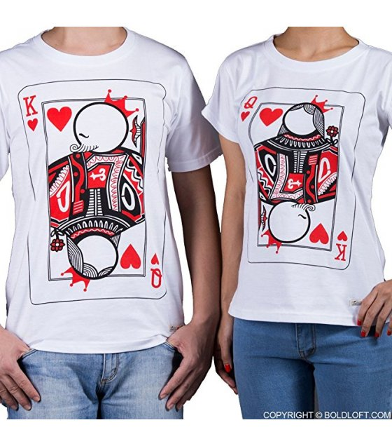 CT007 - Queen Matching Couple Shirts