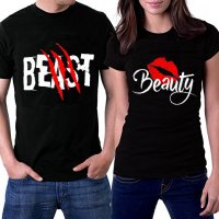 CT009 -  Beast Couple Tshirt