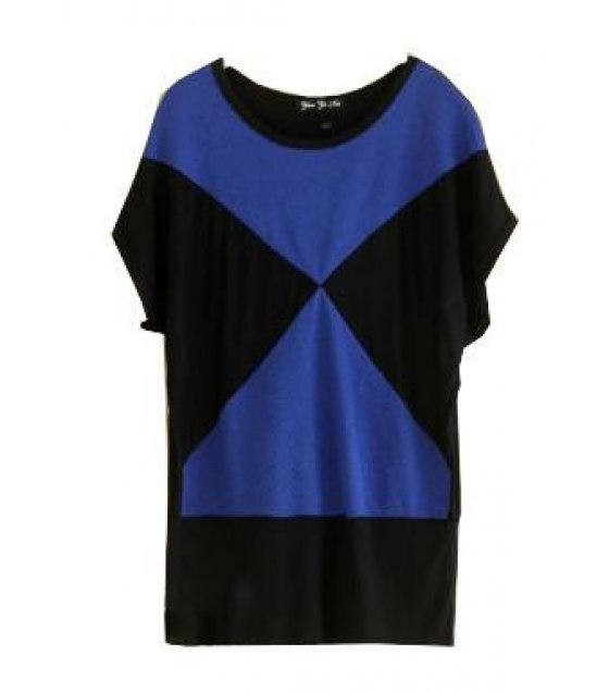 C152 - Black And Blue Modern X design