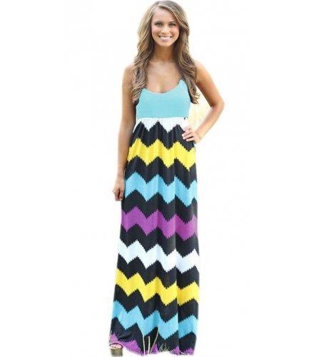 C229 - Short Sleeve Bohemian Beach Dress