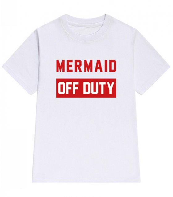 C255 - Mermaid off duty Tshirt