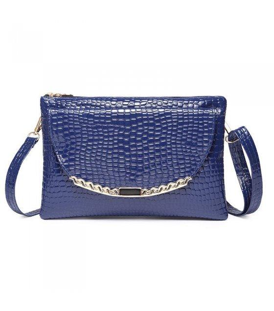 CL126 - Tone crocodile pattern bag shoulder