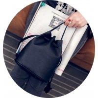 CL261 - Black Satchel Bag