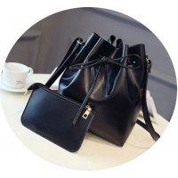 CL278 - Simple Black Clutch Set