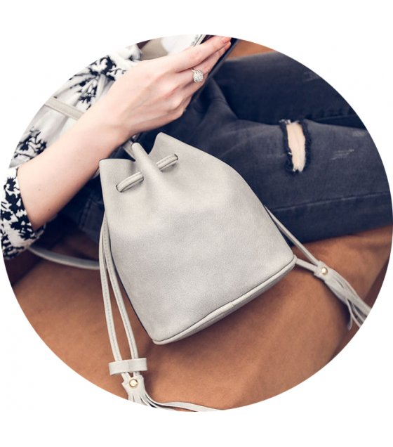 CL279 - Simple Grey Sidebag