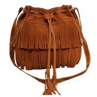 CL346 - Tassel bucket shoulder bag