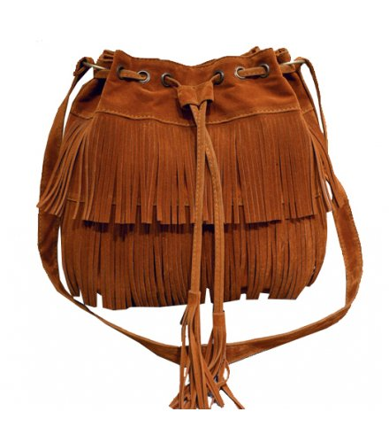 CL346 - Tassel bucket shoulder bag