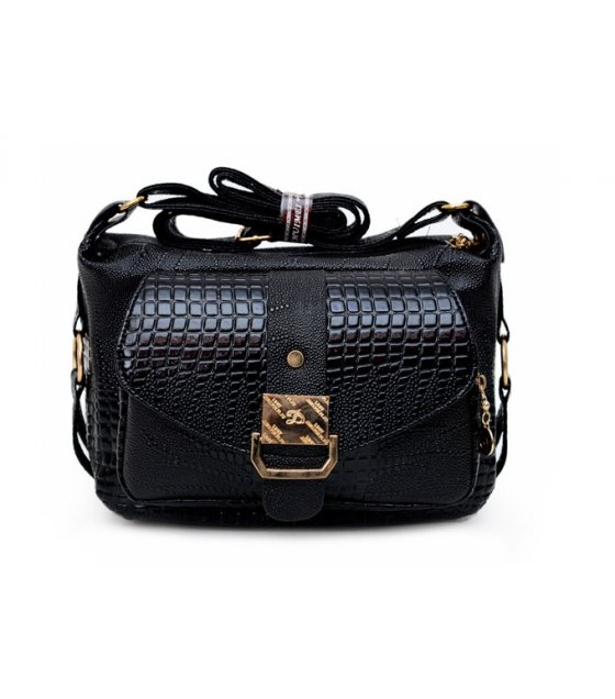 CL356 - Crocodile skin Messenger bag