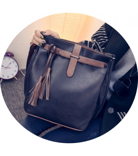 CL366 - Fashion tassel shoulder Bag