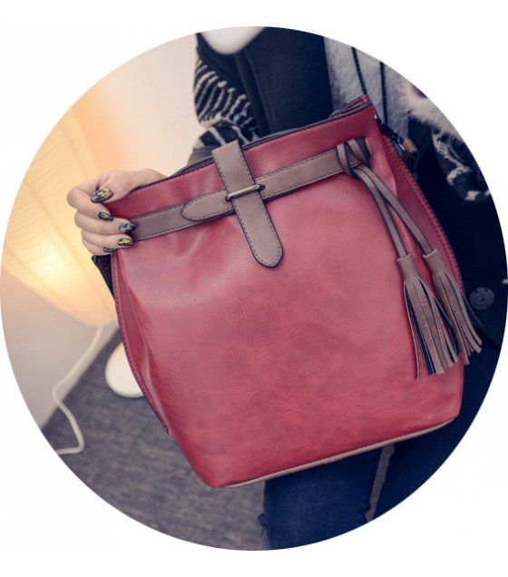CL367 - Fashion tassel shoulder Bag