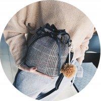 CL435 - Wool bucket bag