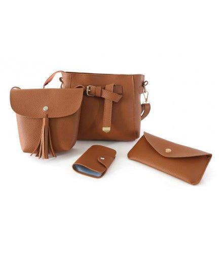 CL439 - Casual Tassel Bag Set