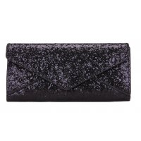 CL442  - Simple sequin buckle wallet