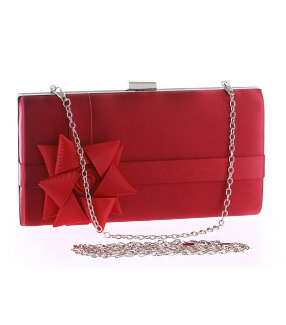 CL459 - Women's clutch flower bag