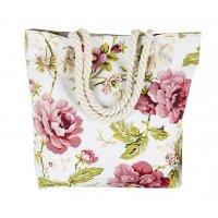 CL471 - Floral Canvas Bag