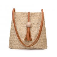 CL476 - Weaved Bucket Bag