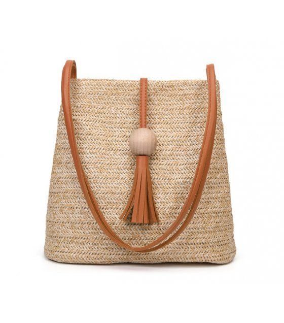 CL476 - Weaved Bucket Bag