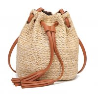 CL477 - Weaved Bucket Bag