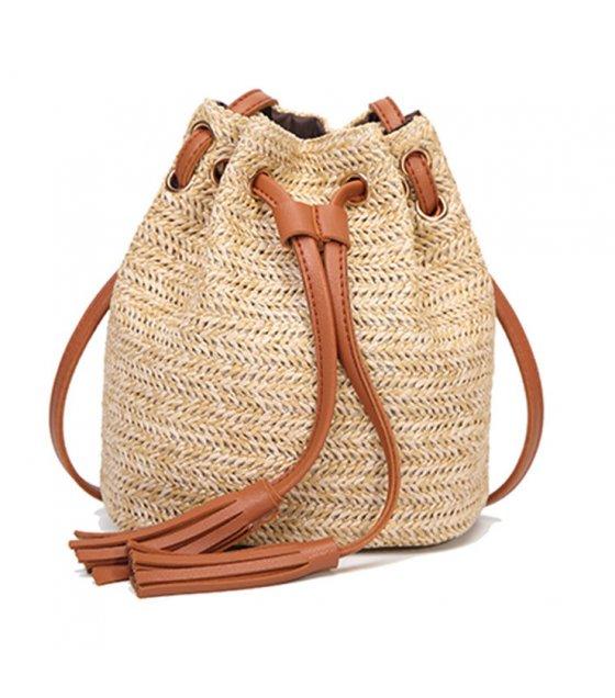 CL477 - Weaved Bucket Bag