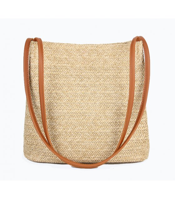 CL511 - Casual shoulder straw bag
