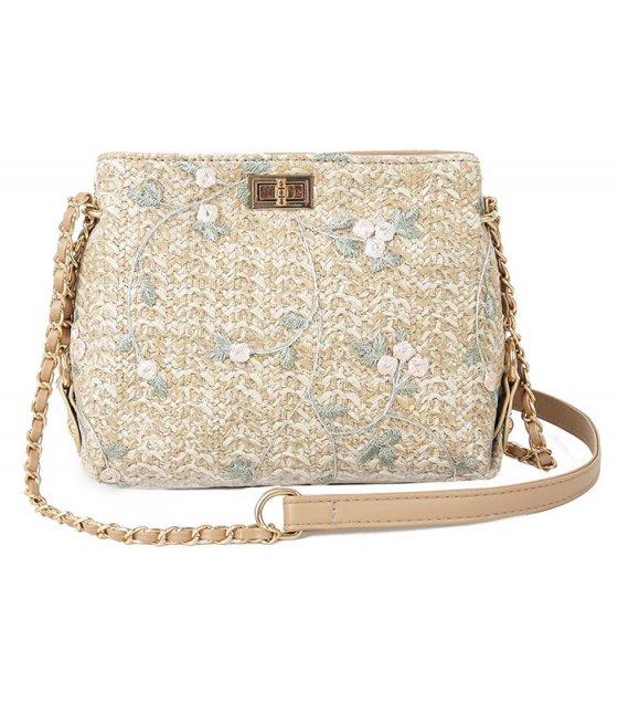 CL531 - Embroidery Women's Shoulder Bag