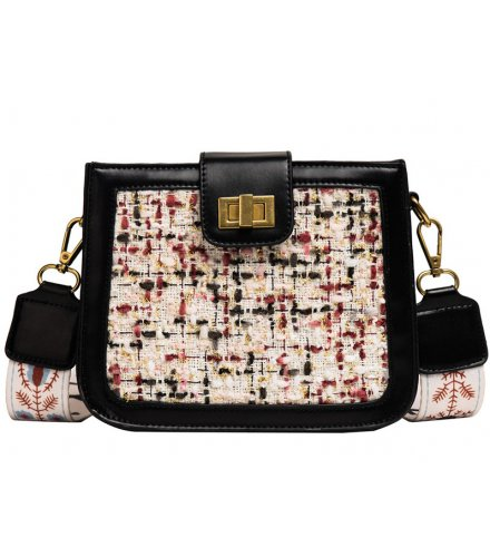 CL535 - Linen Stitched Fashion Shoulder Bag