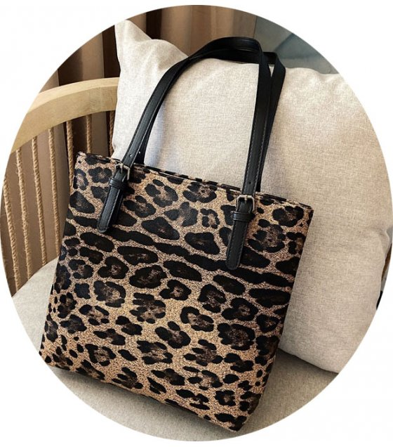 CL545 - Leopard Bucket Bag