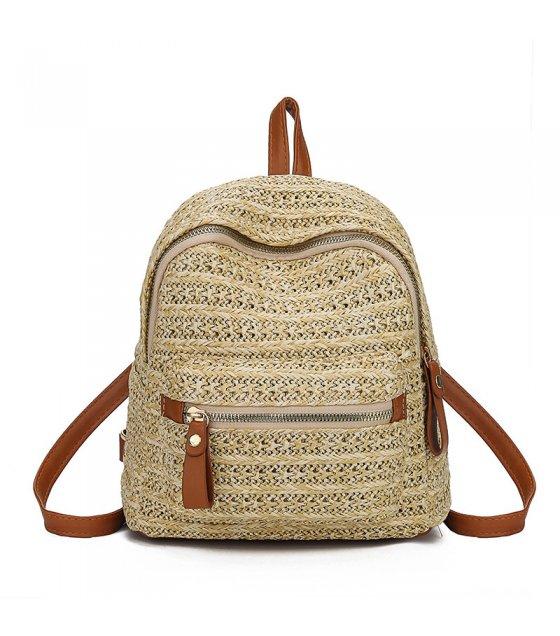 CL557 - Rattan straw shoulder bag