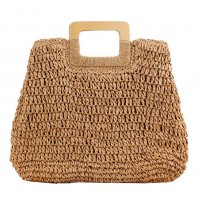 CL570 - Hollow straw Handbag