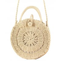 CL571 - Vacation beach woven Straw Handbag