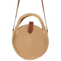 CL572 - Cotton Rope Shoulder Woven Bag