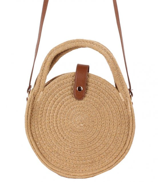 CL572 - Cotton Rope Shoulder Woven Bag