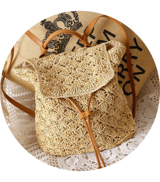 CL573 - Summer Mori women's beach vacation straw bag