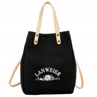 CL579 - Two-piece canvas portable tote bag