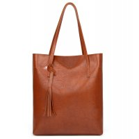 CL580 - Korean fashion tassel tote bag